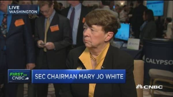 SEC's White: Important to get fiduciary standards 'right'