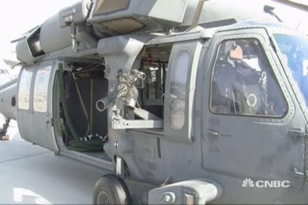 Big military deals in Dubai