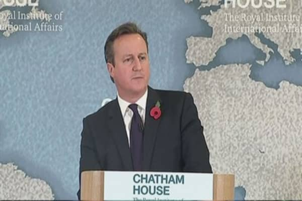 Cameron warns of 'Brexit'