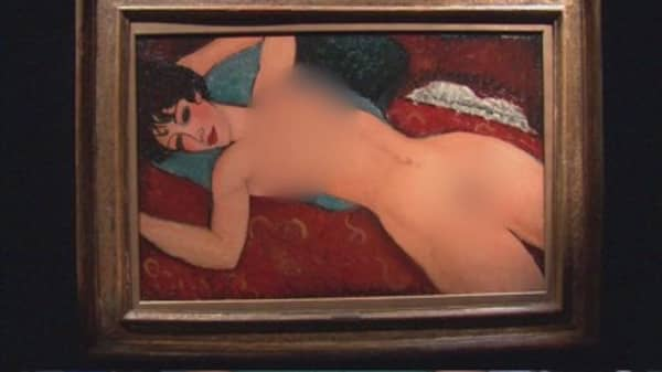Modigliani nude sells for $170M