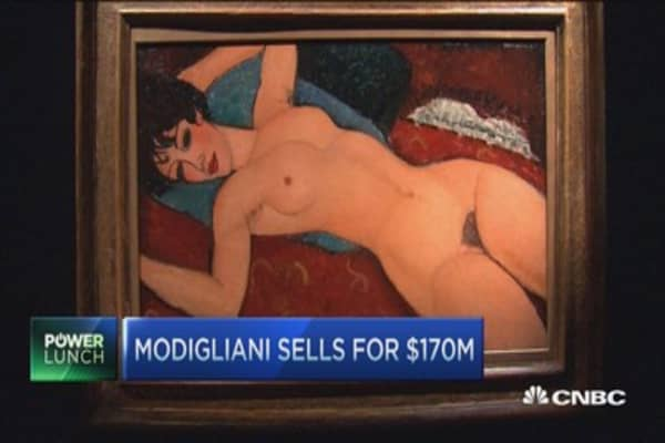 The painting someone paid $170 million for