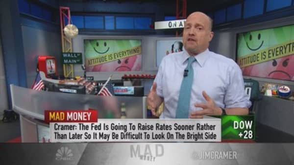 Cramer: How to rule Wall St when the Fed tightens
