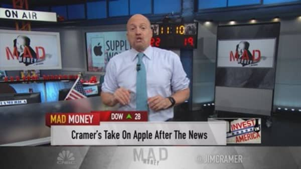Cramer: I find the Apple report hard to swallow