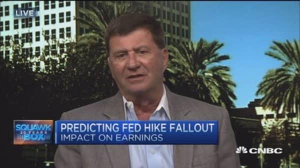 Rate hike negative for earnings: Mark Grant