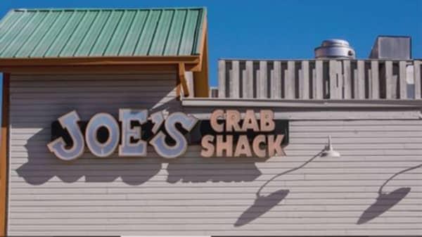 No Tips at Joe's Crab Shack