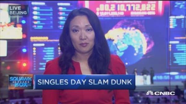 Alibaba breaks Singles' Day sales record