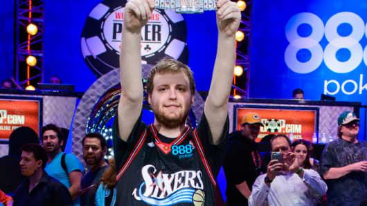 2015 World Series of Poker Main Event Champion Joe McKeehen