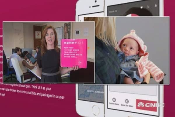 How technology can help expecting moms