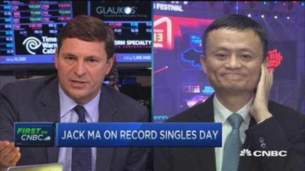 Jack Ma:  People buy high-quality products