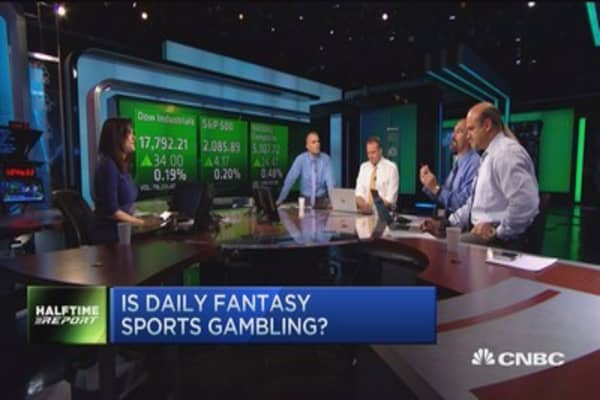 Is daily fantasy sports gambling?