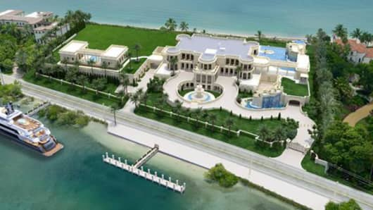 Florida mansion hikes price to $159 million