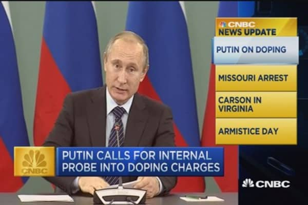 CNBC update: Putin on doping