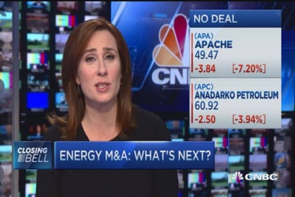 Energy M&A: What's next?