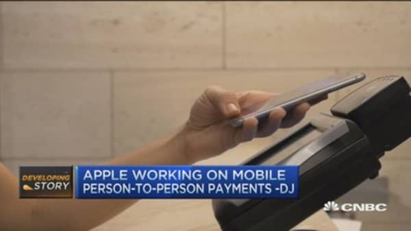 Apple working on Mobile peer-to-peer payments: DJ
