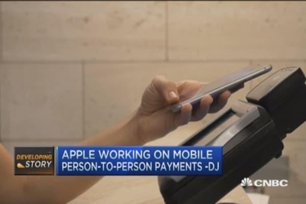 Apple working on Mobile peer-to-peer payments: DJ