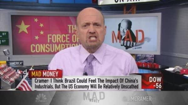 Cramer: US just won the global trade war on China