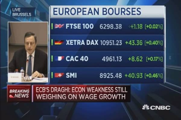 Mario Draghi hints at further stimulus