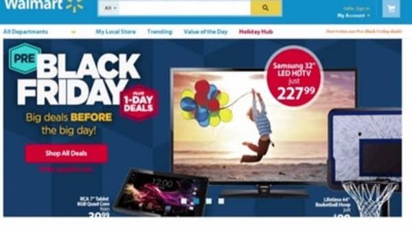 Walmart reveals Black Friday strategy