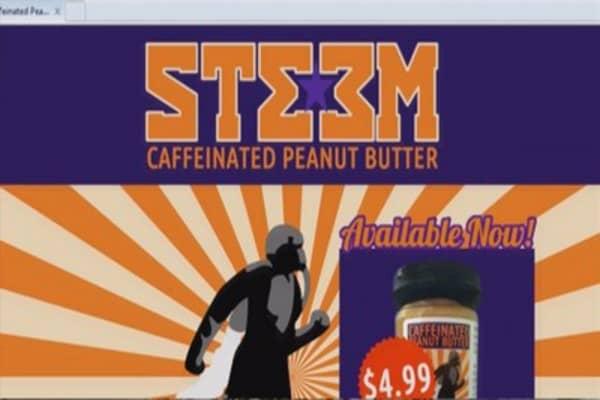Caffeinated peanut butter under investigation