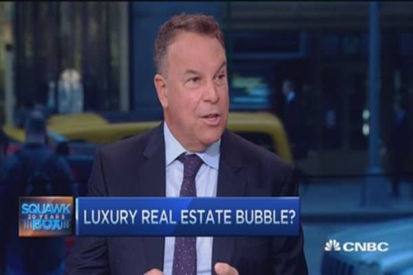Real estate bubble brewing?