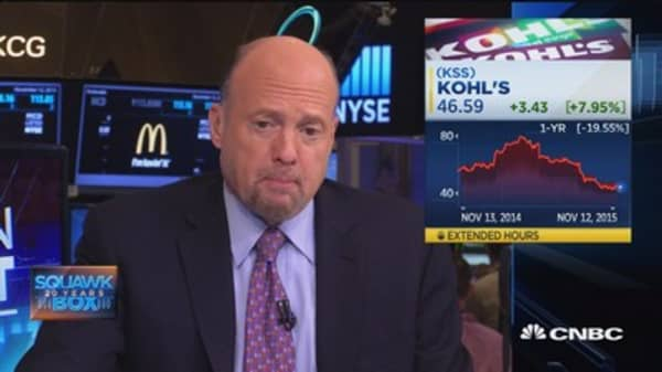 Cramer's stock to watch: Kohl's