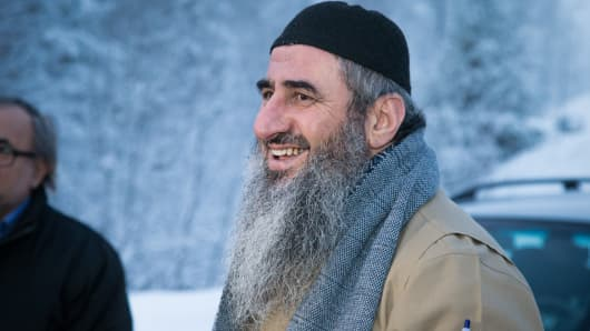 Mullah Krekar, the one-time leader of the Ansar al-Islam militant group, was among those detained.