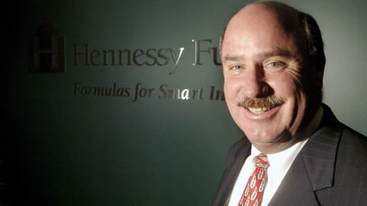 Neil Hennessy, president and portfolio manager of Hennessy Funds.