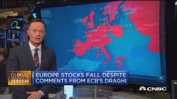 European markets close: Earnings stress