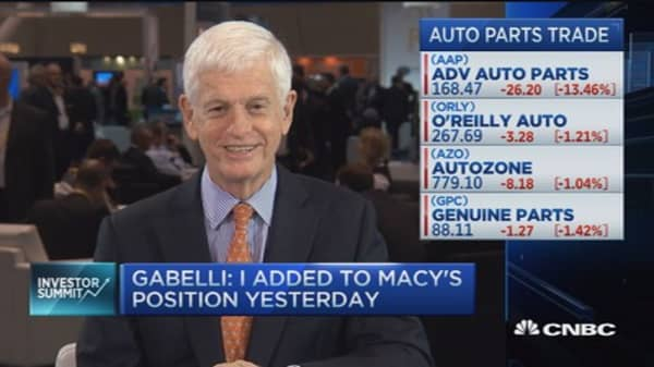 Mario Gabelli: We like Macy's at $40