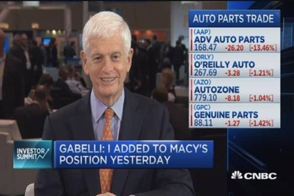 Mario Gabelli: We like Macy's at $40