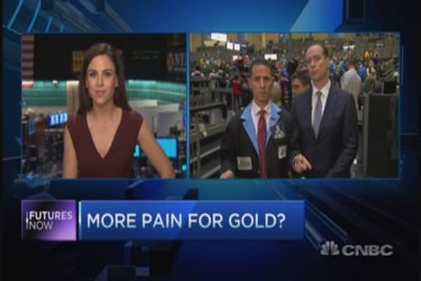 More pain for gold?