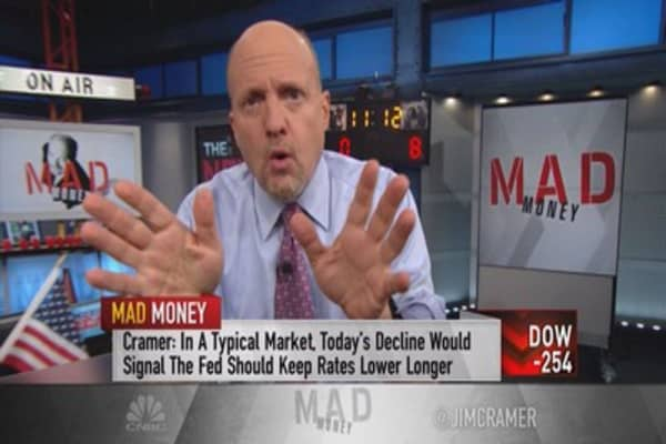Cramer: There's poison bubbling under the surface