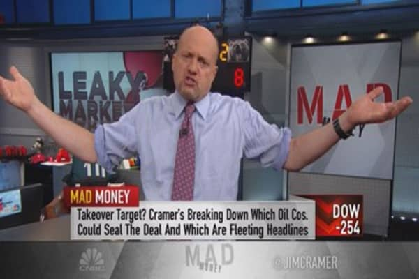 Cramer: Why this decline in oil is so frightening
