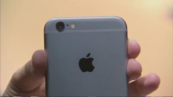 Apple's waterproof phone patent