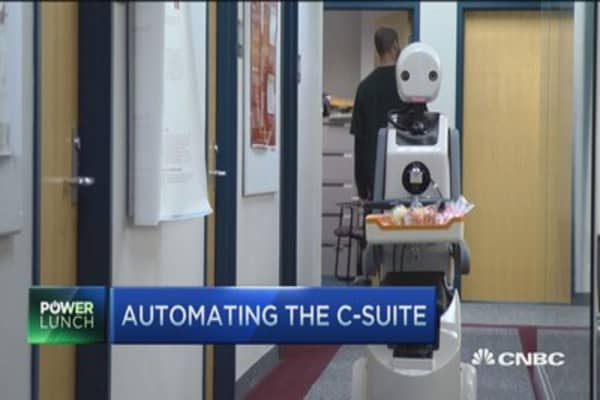 Automating the c-suite