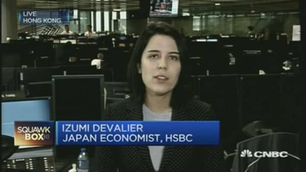 Japan Q3 private consumption was solid: HSBC