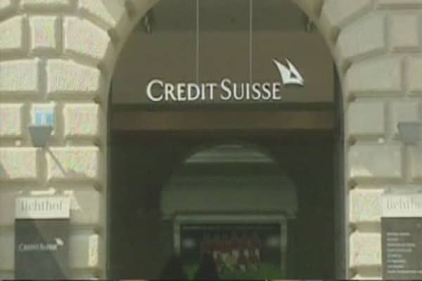 Credit Suisse to set up trading floor in Dublin