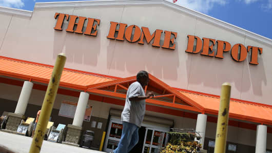 A Home Depot store in Miami, Florida.