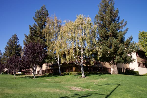 Sand Hill Road in Menlo Park, CA