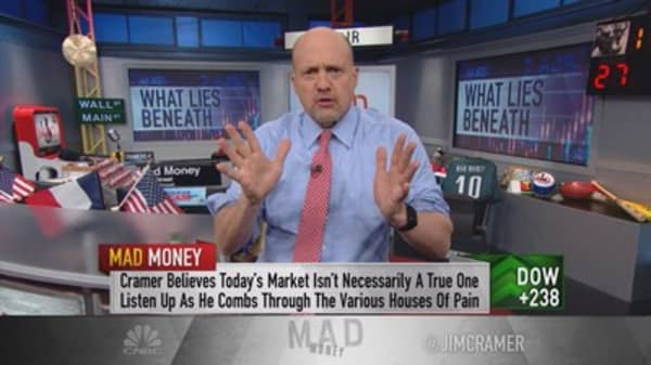 Cramer: Don't get cocky. It was a patriotic rally