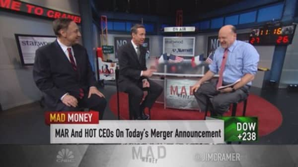 Starwood & Marriott CEO on new deal: Size matters