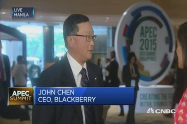 Blackberry is doing OK now: CEO