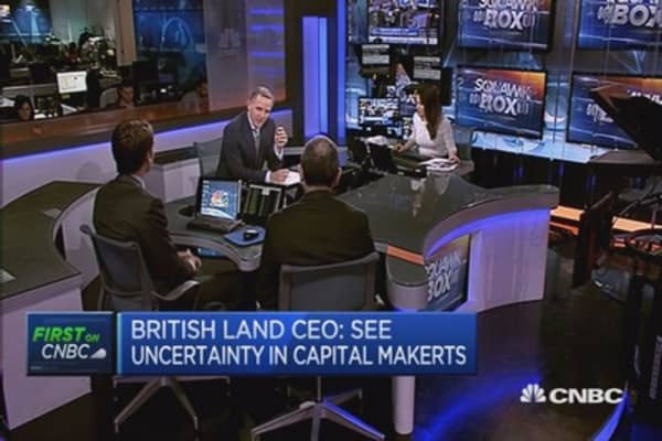 See uncertainty in capital markets: British Land CEO