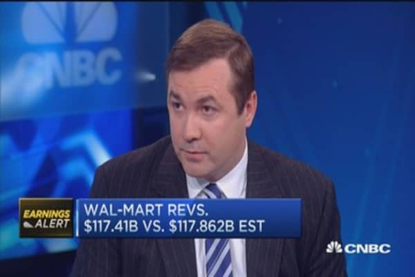 Wal-Mart's Q3 beats Street