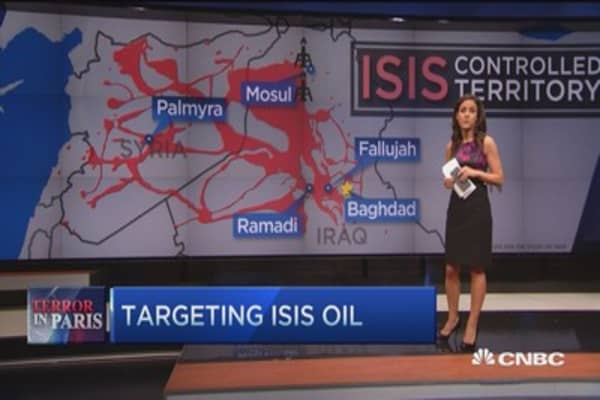 Targeting ISIS oil