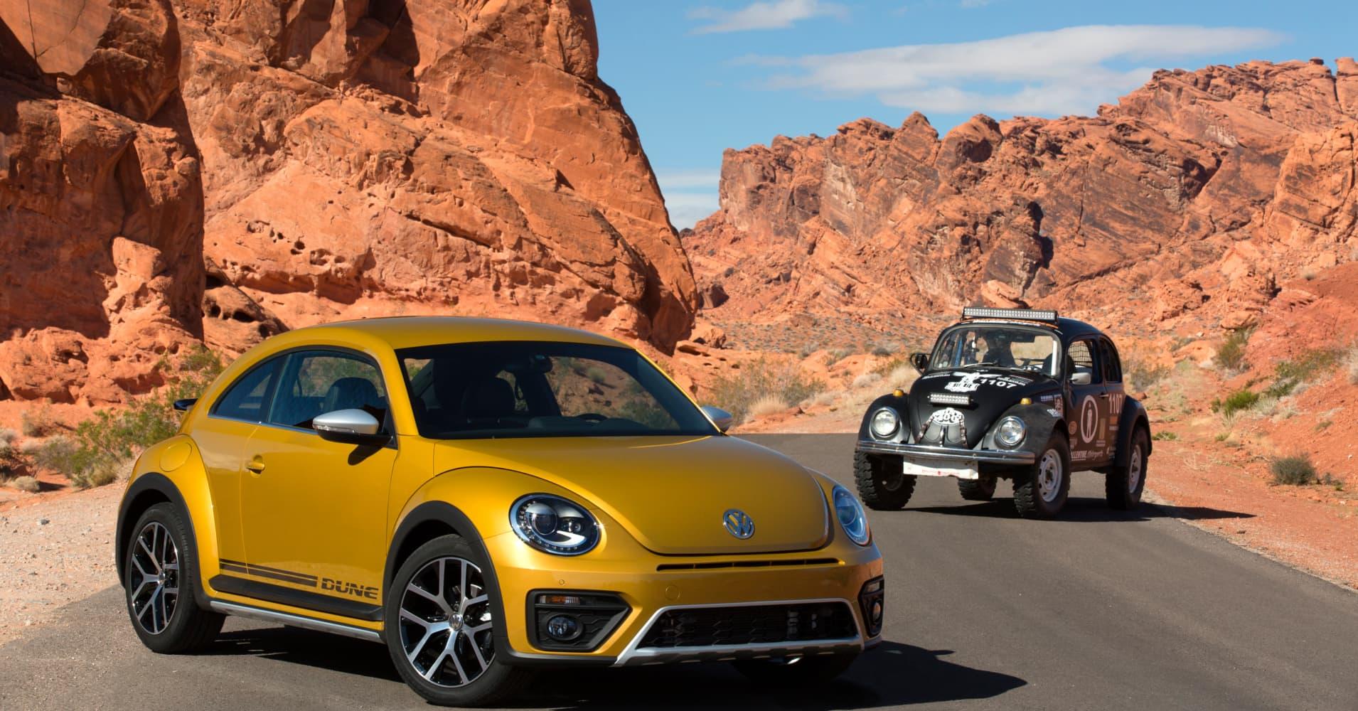 Volkswagen Unveils Its Rugged 2016 Beetle Dune