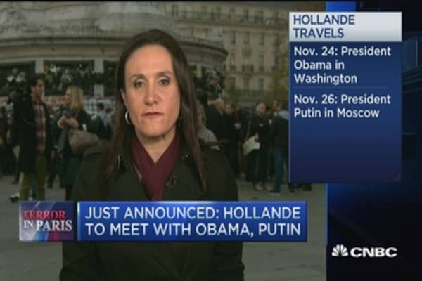 President Hollande to visit the US, Russia
