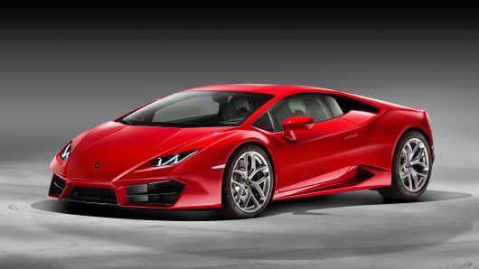 Lamborghini's new LP580-2.