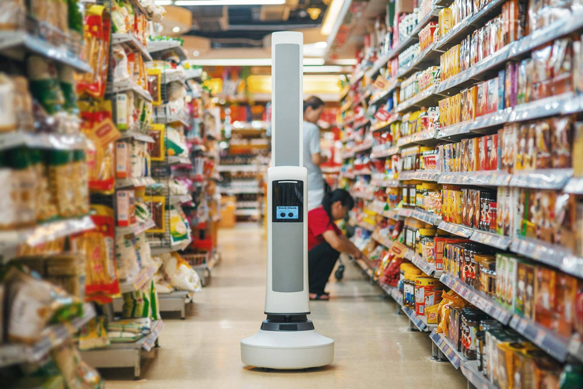 Robots Move Beyond Warehouses Into Retail Stores