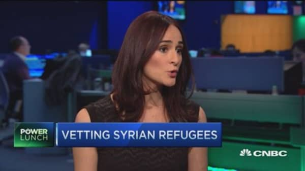 Vetting Syrian refugees